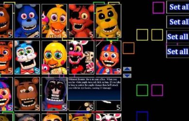Djoof17's Ultimate Custom Night Screenshots