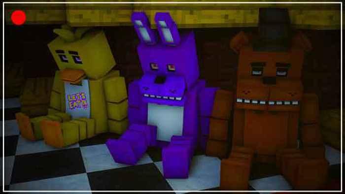 Five Night at Freddy's Minecraft Full Game Screenshots