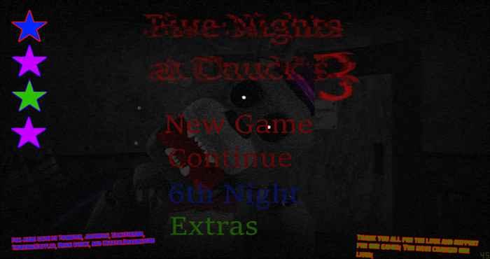 Five Nights at Chuck's 3 4