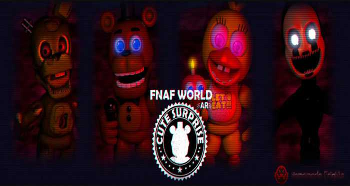 Five Nights at Freddy's World AR: Cute Surprise Free Download