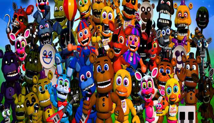 Fnaf world download pc is now available