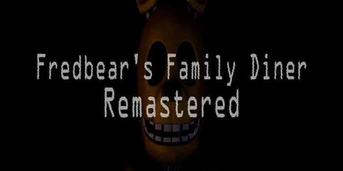 Fredbear's Family Diner: Remastered Free Download