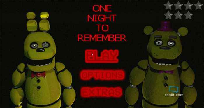 One Night To Remember Screenshots