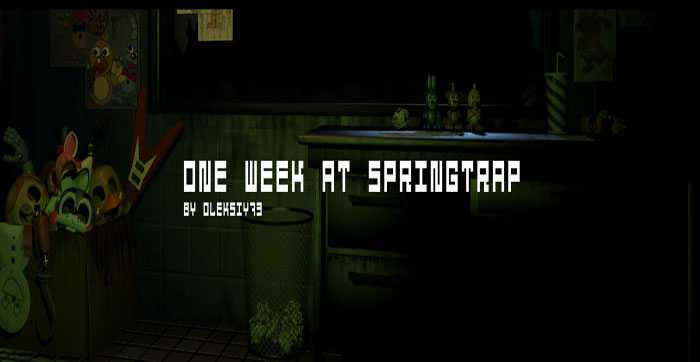 one-week-at-springtrap-official Free Download