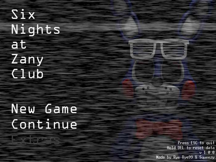 Six Nights at Zany Club 1