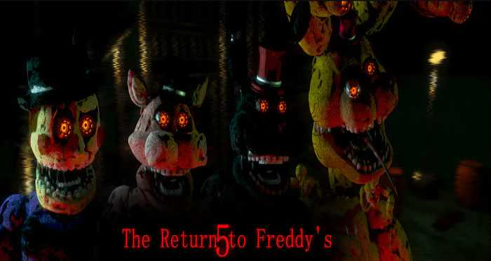 The Return to Freddy's 5 (Unofficial) Free Download