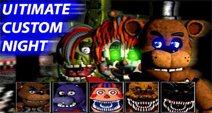 Ultimate Custom Night DEMO Free Download