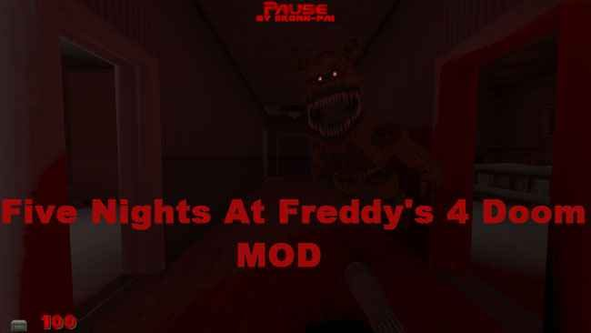 Five Nights At Freddy's 4 Doom Mod Free Download