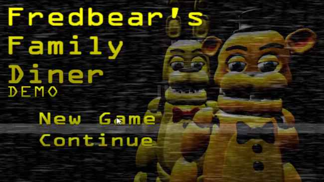 Fredbear's Happy Diner Free Download