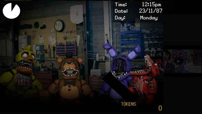 Dayshift at Freddy's Trilogy 1