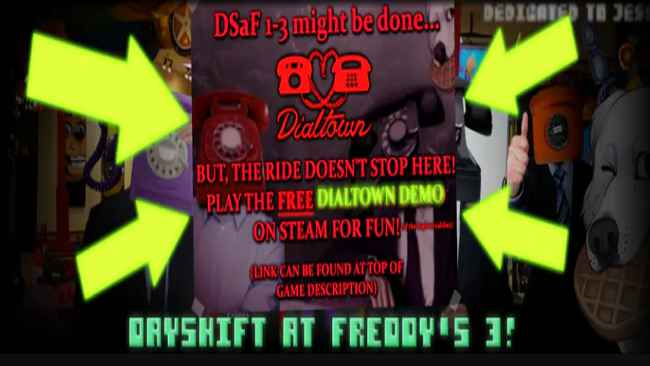 Dayshift at Freddy's Trilogy Free Download