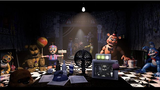 FNaF 2: The New Location 3