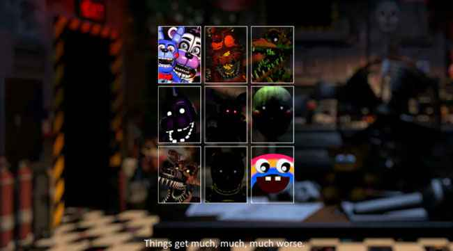 FNaF Ultimate Custom Night: Multiplayer 4