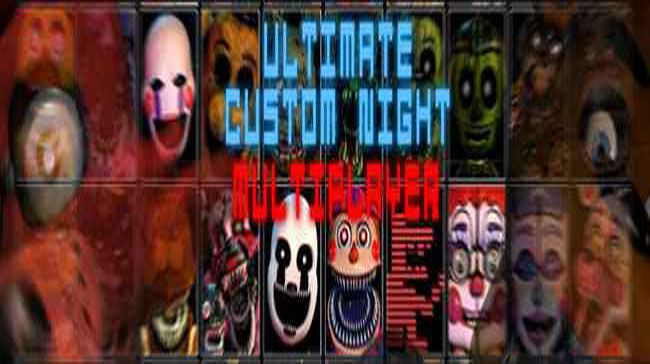 FNaF Ultimate Custom Night: Multiplayer 1