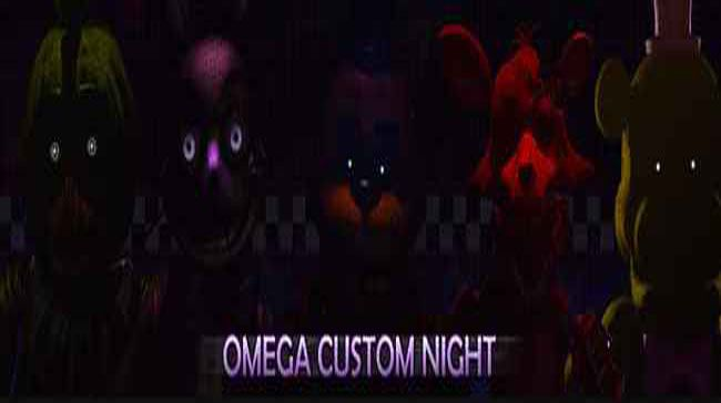 Omega Custom Night: Virtual Nightmare