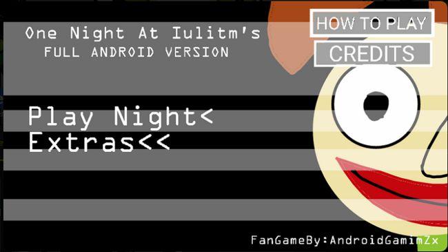 One Night At Iulitm's Full Android 5
