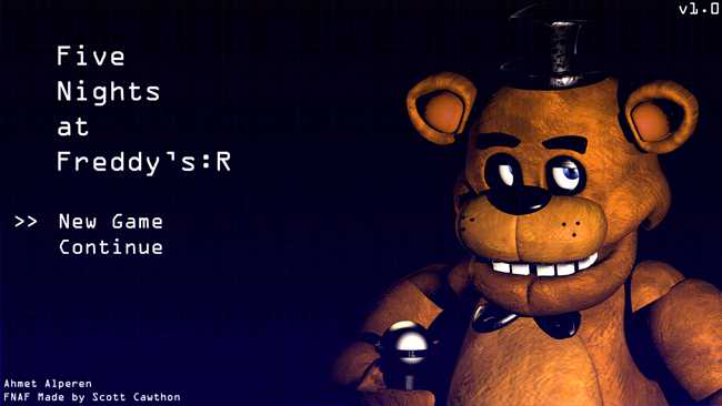 Five Nights at Freddy's: R 3