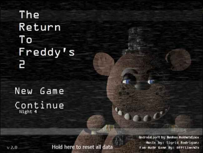 The Return To Freddy's Android Ports Collection (Official) 3