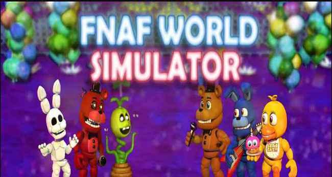FNaF World SIMULATOR FULL APK 1