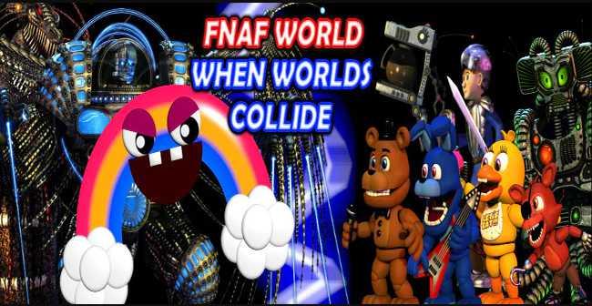 Download FNAF World: When Worlds Collide MV Edition