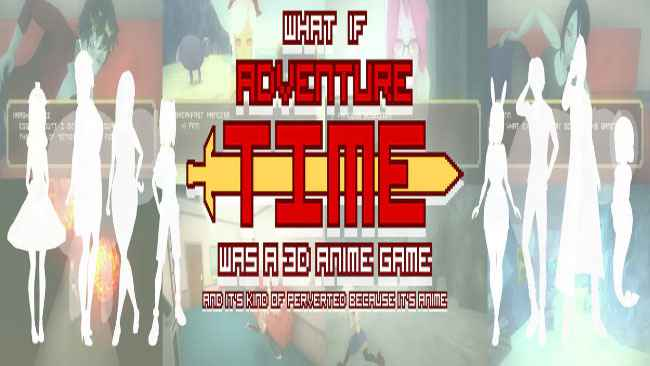 """What if """"Adventure Time"""" was a 3D Anime Game"""
