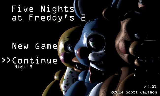 Five Nights at Freddy's 2 Demo APK for Android free download