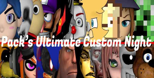 Download Pack's Ultimate Custom Night